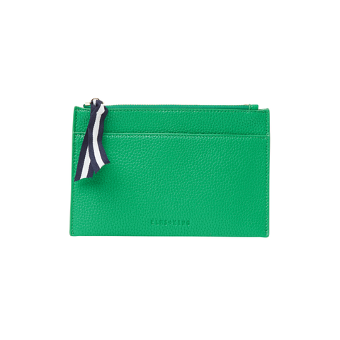 Elms + King - New York Coin Purse | Green