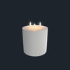 Flameless Candle | Nordic White | Triple Wick