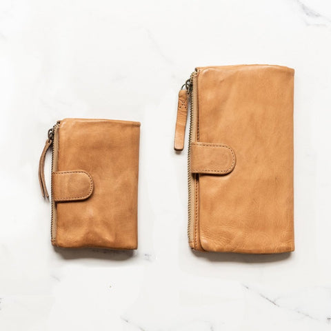 JuJu + Co - Large Capri Wallet | Natural