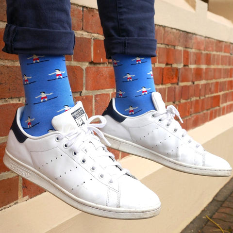ORTC - Mens Socks | Blue Surfers