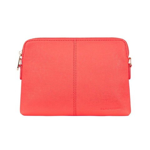 Vegan Leather Bowery Wallet Elms and King in Camellia Red