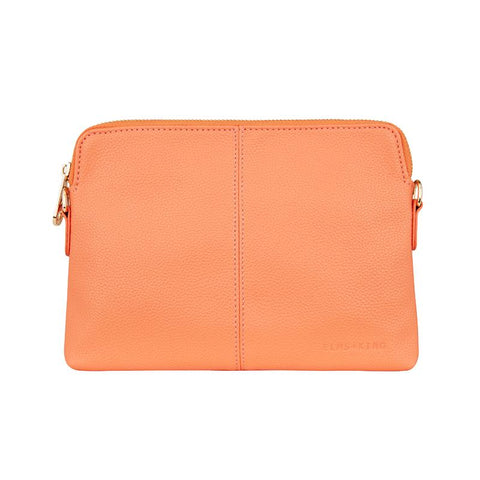 Vegan Leather Bowery Wallet Elms and King in Mango