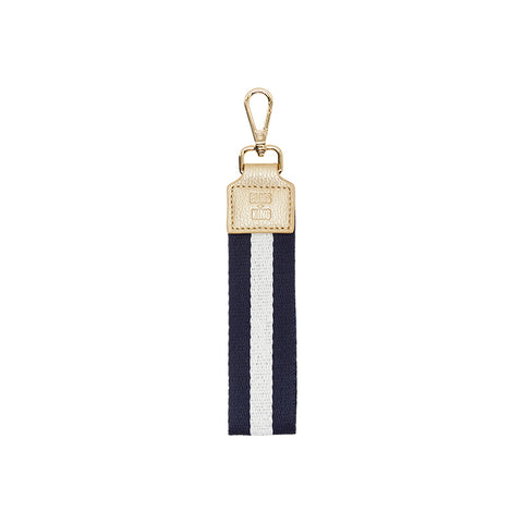 Wristlet - Elms and King | Navy Stripe
