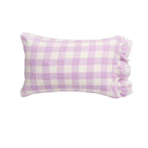 Lilac Gingham Pillowcase Set * Preorder*