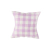 Lilac CHeck Cushion by society of wanderers at Unearhted Homewares