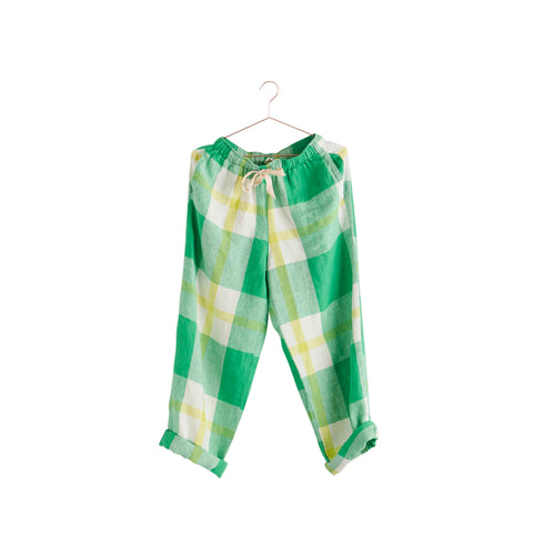 zest check pants by society of wanderers at unearthed homewares