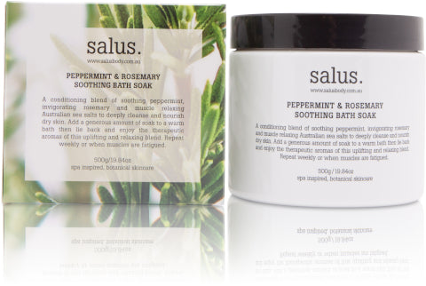 Salus | Peppermint & Rosemary Soothing Bath Soak