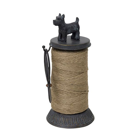 Scottie Dog Metal Twine Holder by French Country Collections at Unearthed Homewares