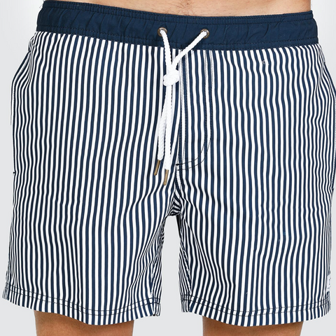 Manly Navy Swim shorts by ORTC @ Unearthed Homewares