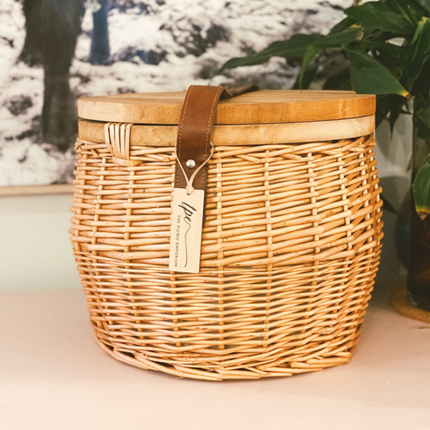 Wicker Picnic Basket | Small