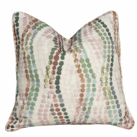 Mayvn Monet pastel spot cushion at Unearthed Homewares
