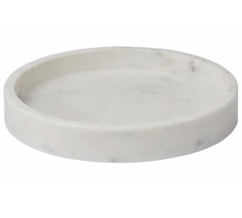 Bianco Marble Tray | White
