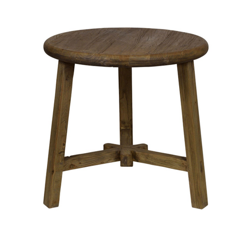 Reclaimed Elm | Side table