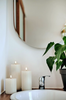 Flameless Candle | Nordic White | Pillar