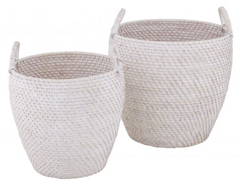Hamptons Basket | White