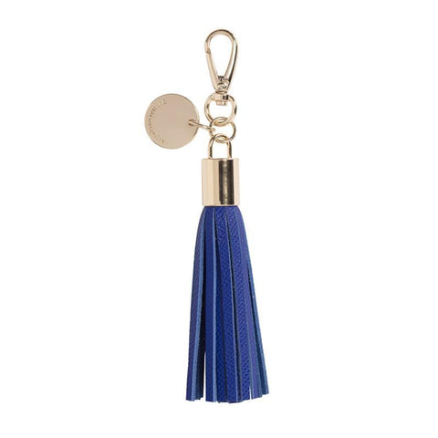 ArlingtonMilne - Tassel - Leather | Cobalt
