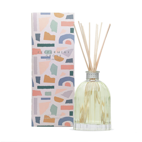 Vanilla and Caramel Diffuser Peppermint Grove Limited Edition @ Unearthed Homewares