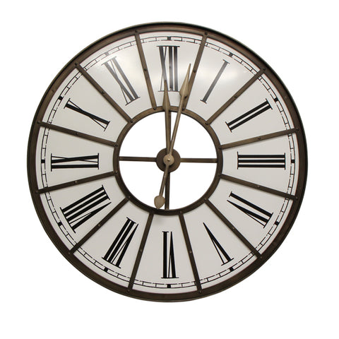 French Country - Iron Clock