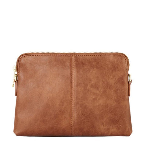 Elms and King Bowery Tan Clutch Wallet