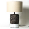 Wharf Table Lamp | Grey + White