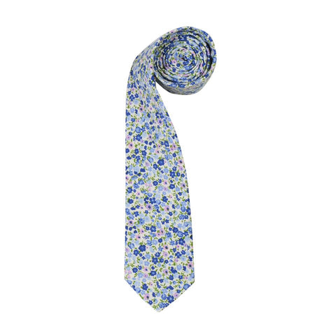 Scahpel Floral mens Tie by ORTC at Unearthed Homewares