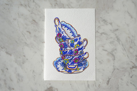 Card - Dorothy Pearls China| Carina Chambers