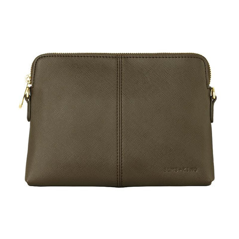 Vegan Leather Bowery Wallet Elms and King in Khaki