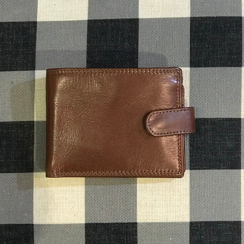 Mens  Leather Wallet | Black | Brown | Cognac