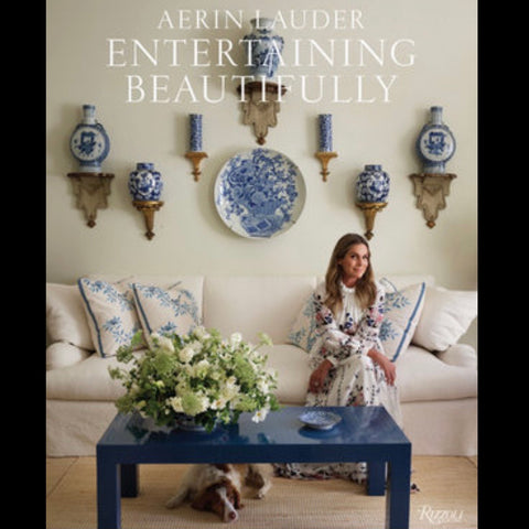 Aerin Lauder Entertaining beautifully at Unearthed Homewares