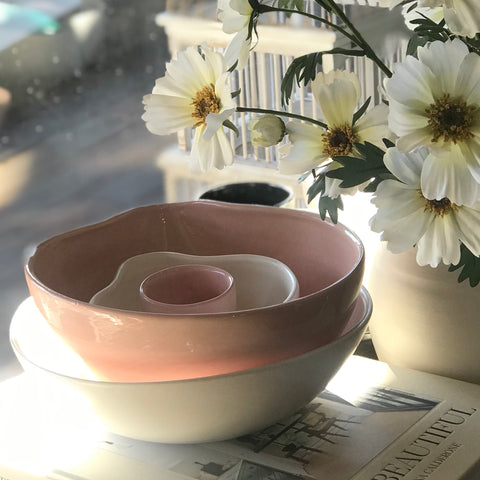 Large Pouring Bowl - Pink | Batch Ceramics