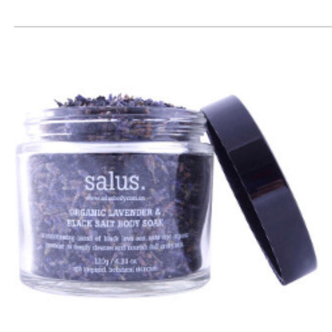 Salus - Organic Lavender & Black Salt. | Body Soak