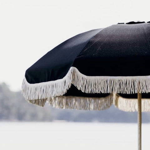 Basil Bangs Jardin Umbrella in Black at Unearthed Homewares
