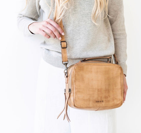 Juju + Co Berlin Bag Natural