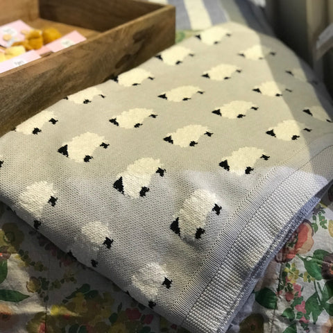 Counting Sheep Throw | French Country