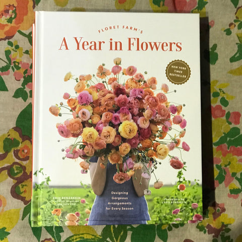a year in flowers by floret farms at Unearthed Homewares