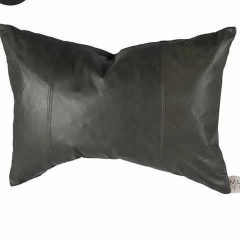 Mayvn - Austen Leather Cushion | Olive