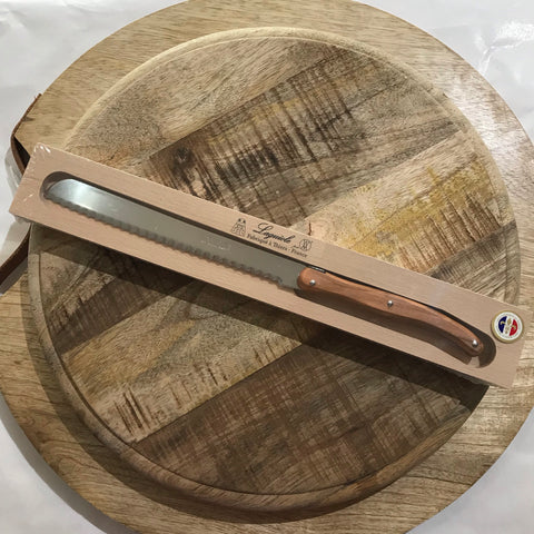 Andre Vertier - Bread Knife | Olive Wood
