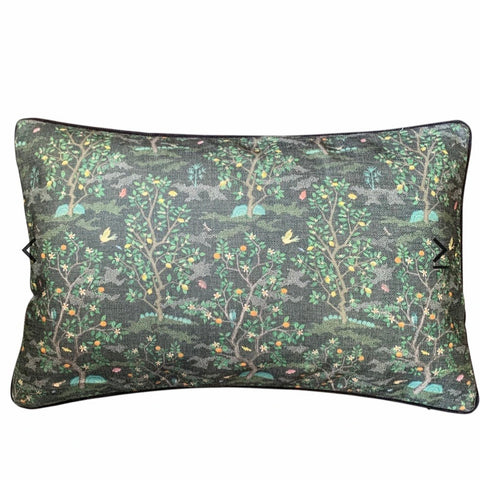 lemon grove cushion | dark at Unearthed Homewares