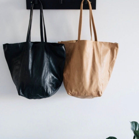 Woolf Leather -Tote |Tan