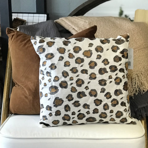 Leopard Spot Cushion at Unearthed Homewares