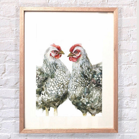 Framed Art - Free Range | Meadow Art Collective