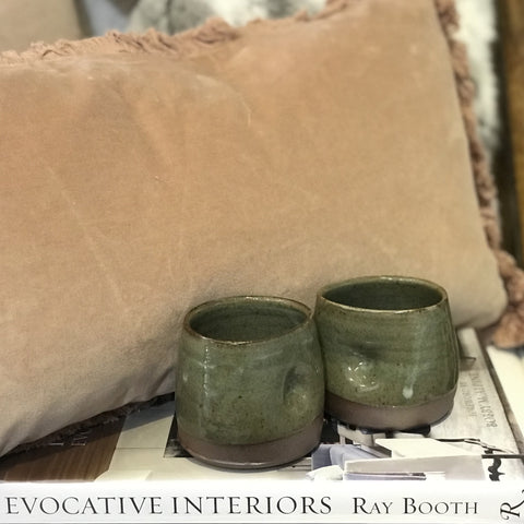 Handmade local pottery by Rebecca Dowling at Unearthed Homewares
