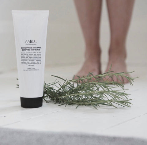 Salus - Eucalyptus and Rosemary Purifying Body Scrub