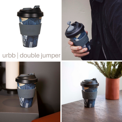 Reusable Bamboo Coffee Cup | Limited Edition Double Jumper