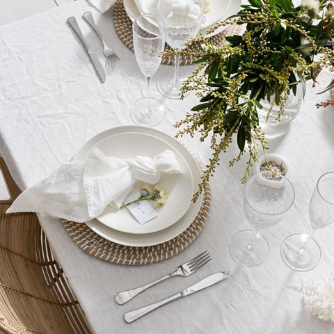 kori seagrass placemat at unearthed homewares