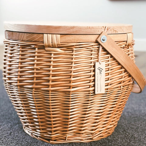 The Picnic Emporium Wicker Picnic Baskets at Unearthed Homewares