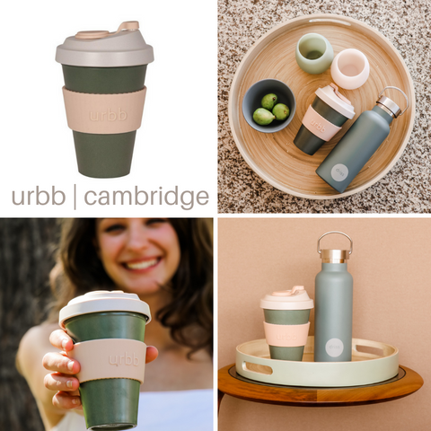 Reusable Bamboo Coffee Cup | Cambridge