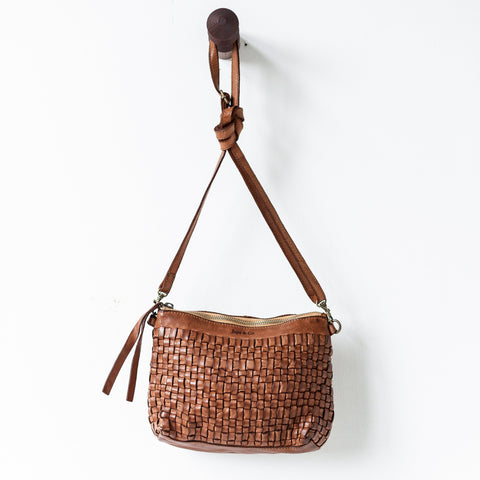 Woven Pouch Bag by juju + Co @ Unearthed Homewares
