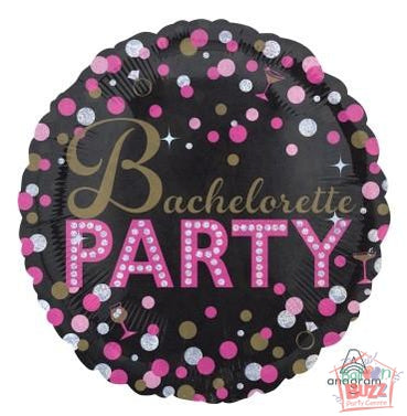 18-inch - Bachelorette Sassy Party - Helium-Filled Foil Balloon