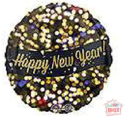 HNY 17-inch Celebration Foil Balloon